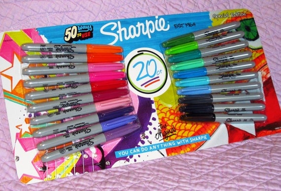 Image result for sharpie special edition 20 pack
