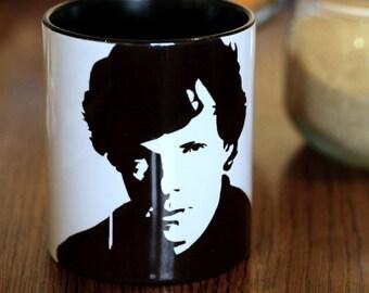 Benedict Cumberbatch, Sherlock, Sherlock Holmes, star trek, Hand Printed Cup