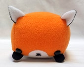 Rectangle Animals Red Fox Plush- MADE TO ORDER