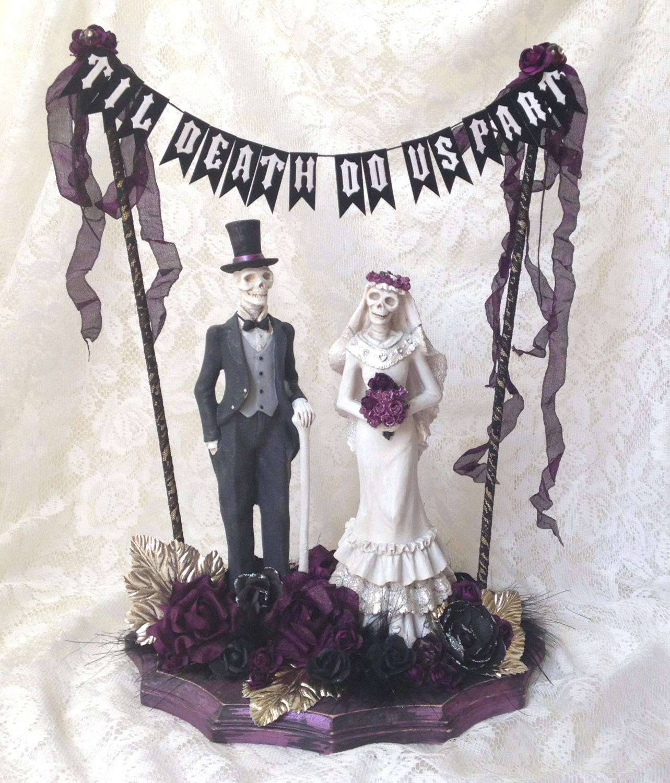 Gothic Wedding Decoration Ideas: Goth Wedding Halloween Wedding Day Of The Dead Centerpiece