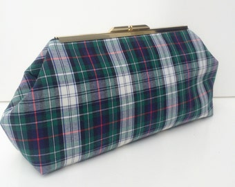 Plaid Tartan Clutch
