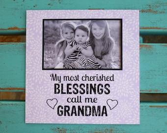 Mother's Day gift, Grandma gift, Nana gift, Grandchildren photo gift, personalized photo frame, Nana gift