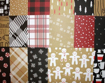 6x6 Hot Cocoa Collection by American Crafts 34 Sheets*Cozy Christmas