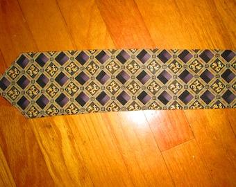 Vintage Men's Silk Necktie 1960's