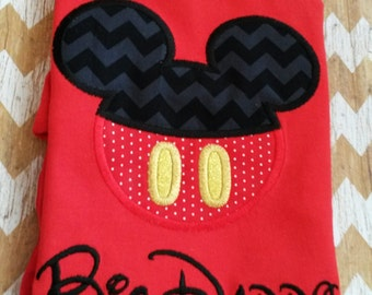 Boy Mouse Custom embroidered Disney Inspired Vacation Shirts for the Family! 955
