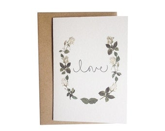 Love Roses Card