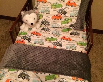 Cars toddler bed 3 pc set