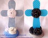 Cross centerpiece. Custom colors