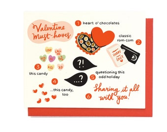 Valentine Must-Haves Card