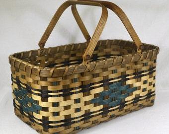 """Handmade Farmer's Market or Vegetable Garden Basket - """"Mary"""""""