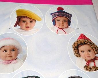 Simplicity 3537 BABY HATS Uncut