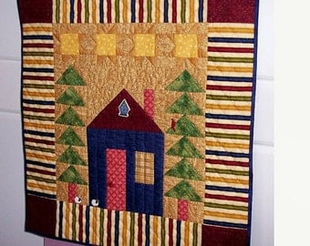 Little House on the Prairie Wall Hanging