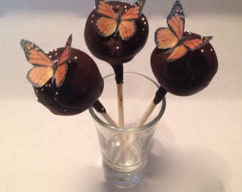 Butterfly Cake Pop / Mini Cupcake Accents