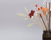 Wooden Flowers - Plywood Flowers - Winter Flowers Bouquet - Valentines Gift