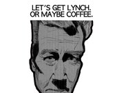 Let's Get Lynch. Or Maybe Coffee Postcard (4 pack)