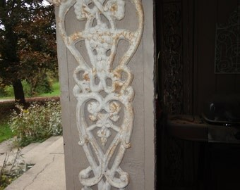Vintage Wrought Iron Architectural Detail