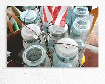 Still Life Photography Thrift Shop Mason Jars Country Photography