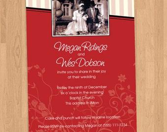 Kim Anderson Wedding Invitations Printable DIY