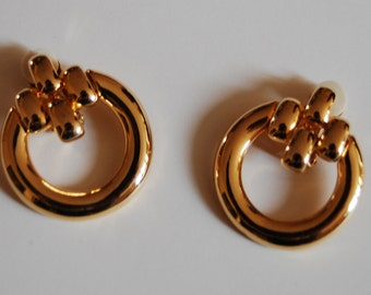 Clip on earrings-Céline styl