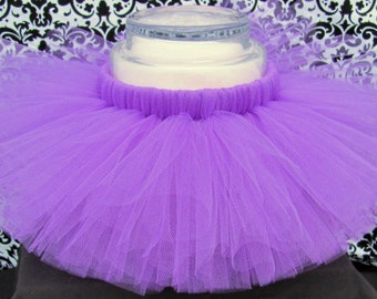 Purple Tutu, Purple Tutu Skirt, Girl's Tutu, Baby Tutu, Purple Skirt, Photo Prop, Birthday Tutu, Dance Tutu, Infant Tutu, Purple Baby Tutu