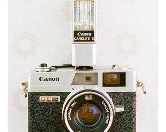 Vintage Canon Camera Photograph-Digital Download