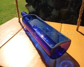 Skyy Vodka Bottle Tray Cobalt Blue