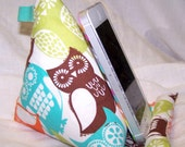 Phone Stand, Cell Phone Stand, Owl, Pillow Wedge, iphone, Samsung, Smart Phone Dock