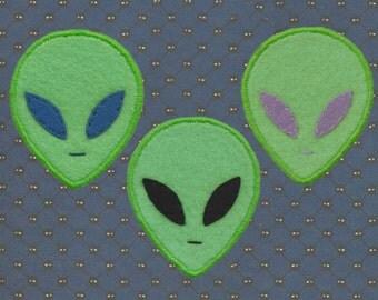 Handmade Alien Patch