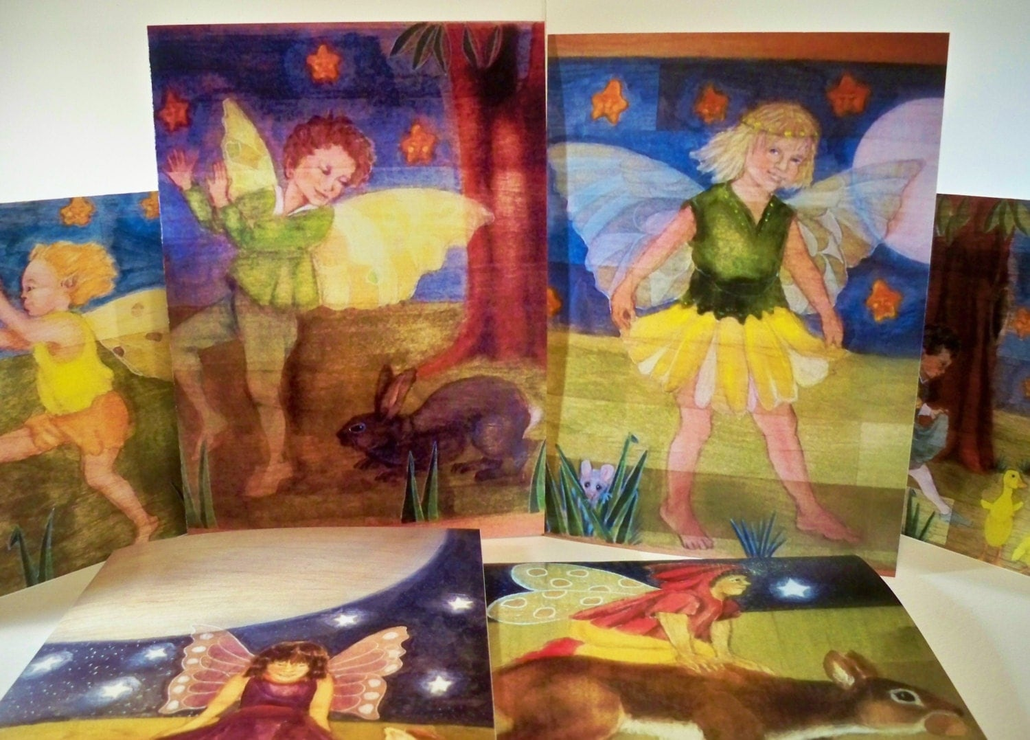 Greeting Cards Fairy Designs From Original Art 12 Card Pack