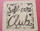 Self Care Club Patch