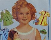 1980s Two Volumes UNOPENED Shirley Temple Paper Dolls
