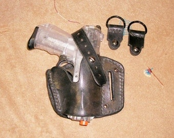 DKM Leathers Double Duty Holster