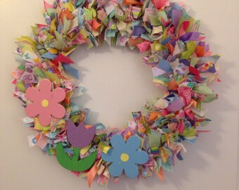 Spring Ribbon Wreath