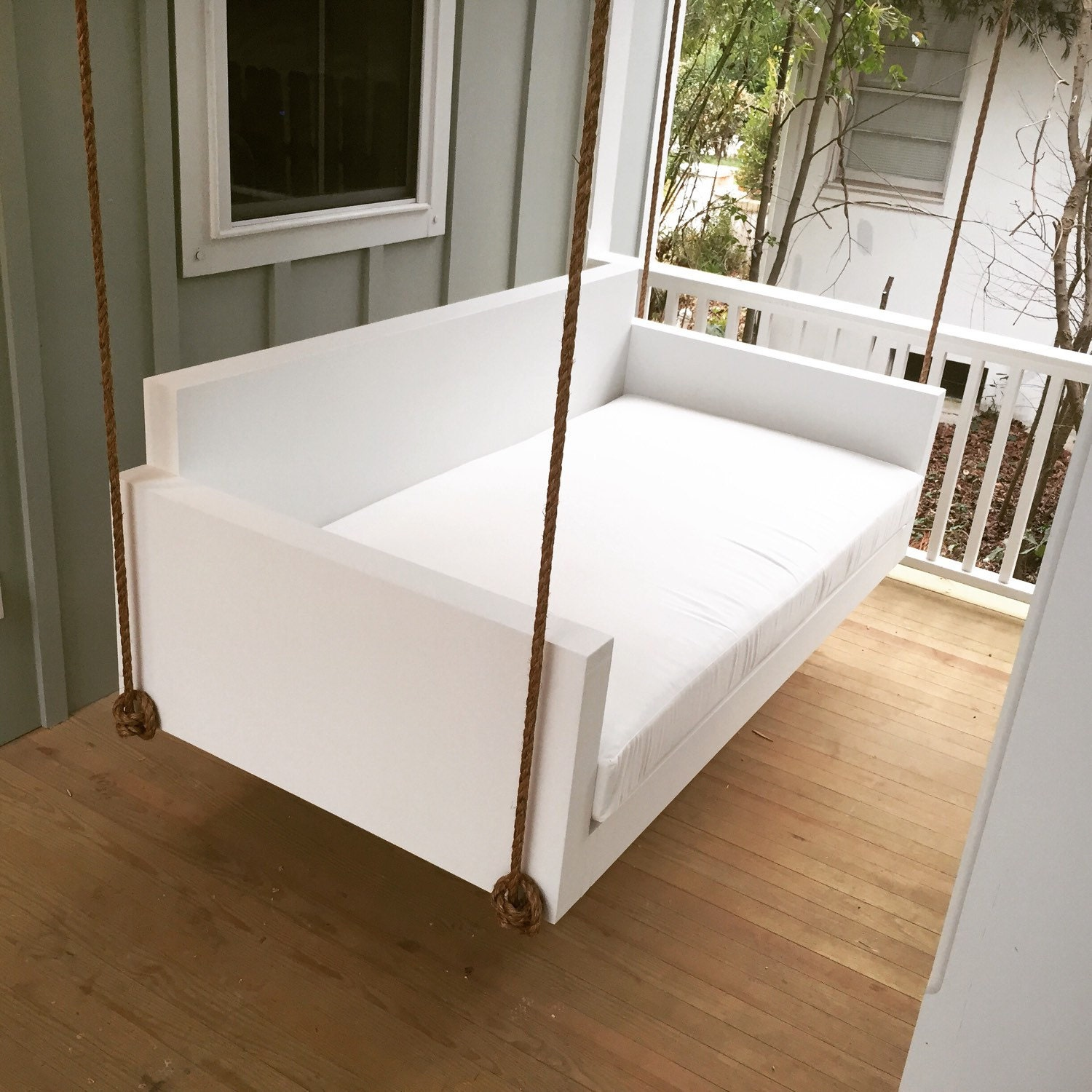 porch swing the moultrie swing bed free. Black Bedroom Furniture Sets. Home Design Ideas