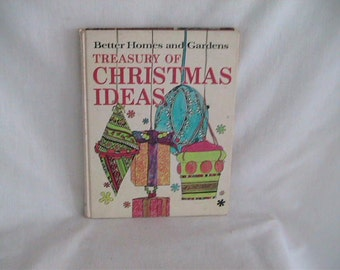 Better Homes and Gardens Vintage Christmas Craft Book How To Holiday Ideas