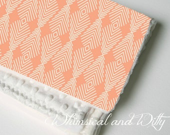 Baby Blanket - Apricot Peach