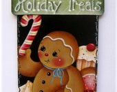Holiday Treats Gingerbread Painting E-Pattern