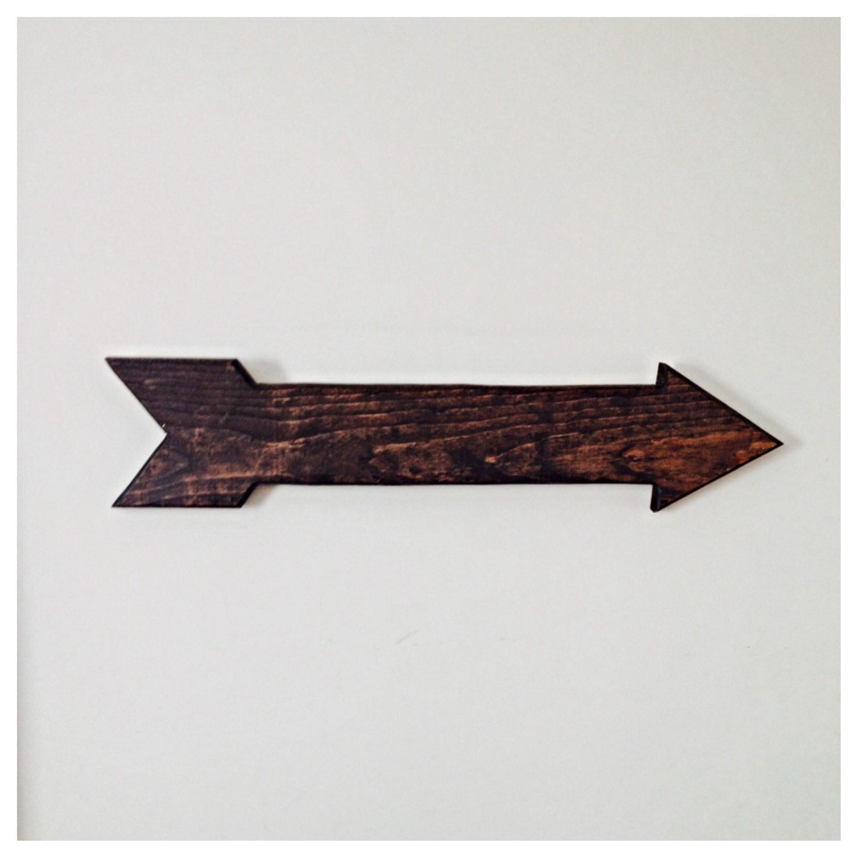 Arrows For Wall Decor : Wooden arrow rustic wall decor wedding home