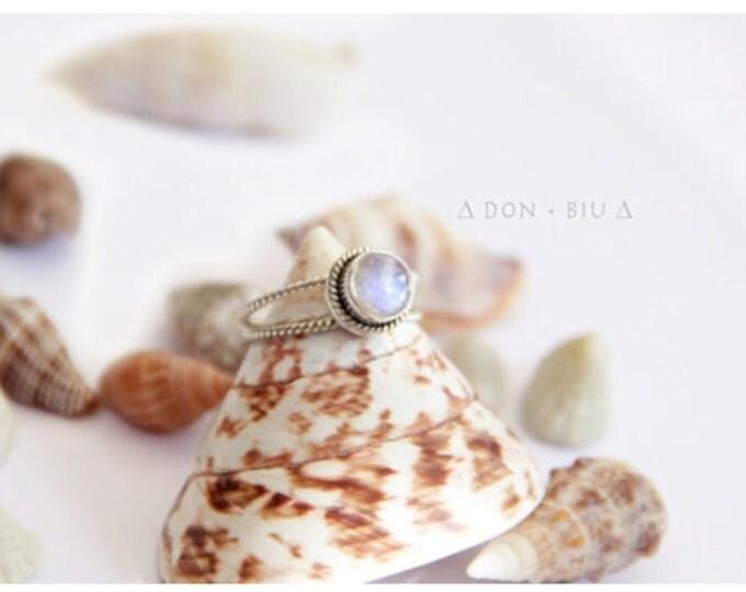 Boho, Moonstone Ring, Silver Ring, Moonstone, Moon Ring, Sterling Silver Ring, Gypsy, Boho Ring, Statement Ring, Gypsy Jewelry, Boho Chic