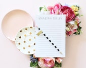Amazing Ideas- Lined Notepad