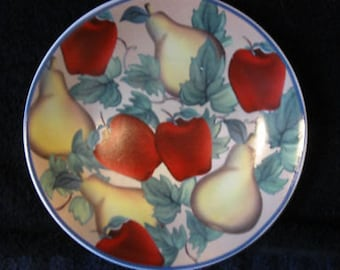 DECORATIVE PLATE  8 1/4 INCHES CL19-25