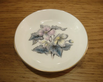 Vintage Royal Worcester pin dish with Sylvia pattern