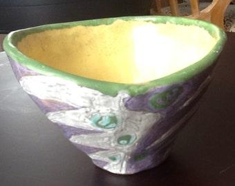 Livia Gorka 1950's Ceramic Bowl