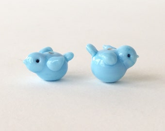 Spring chickens in baby boy blue...These are ready to ship.!!  Priced as a pair (two)