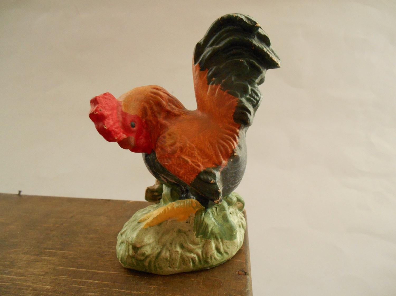 Vintage Ceramic Rooster Porn Hub Sex