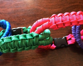 Twisted Dragonfly Paracord Bracelet