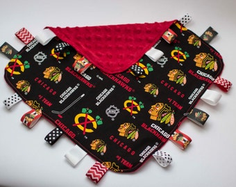 Chicago Blackhawks Ribbon Blankie