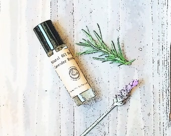 Rosemary Lavender oil perfume