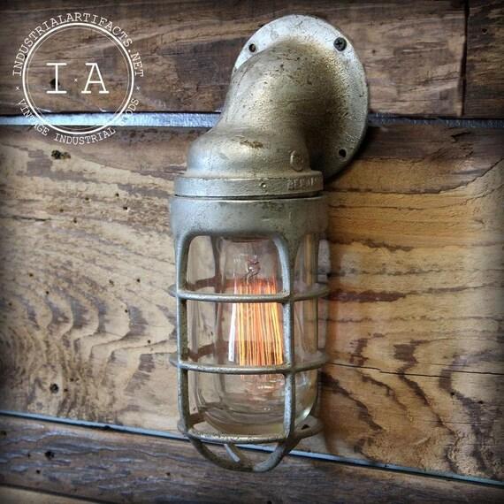 Appleton Light Vintage Industrial: Vintage Industrial Appleton Explosion Proof By