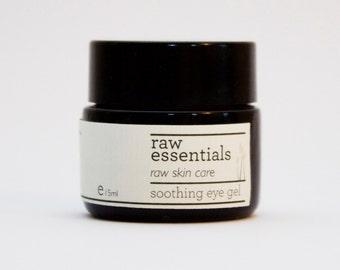 Soothing eye gel - rosehip